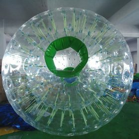 clear_zorb_ball_dark_green